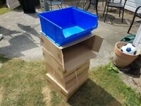4X Brand New Stackable Tub/Shelves (£10 For All)