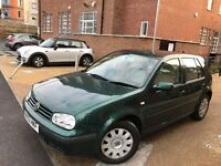 Volkswagen Golf 2002**1.9 TDI PD SE 5dr ** LOW MILEAGE ONLY 65.000 MILES FROM NEW **12 MONTH MOT
