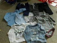 Baby boy bundle clothes 0 to 3 months
