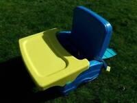 Travel feeding chair
