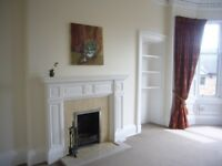 Very spacious, sunny 3 bed flat. Unfurnished. Perfect for 2 couples sharing. GCH,DG, shared garden.