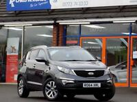 KIA SPORTAGE 1.6 2 ISG 5dr 133 BHP *LOVELY CAR, ONLY 25000 MILES* (grey) 2014