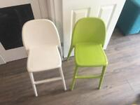 Two IKEA URBAN junior chairs