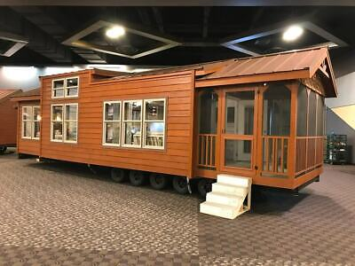 Cabin Tiny House Many Styles Movable Pre-fab For Your Lotproperty Part. Furn.