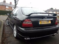 2000 X REG HONDA CIVIC VTEC 1.5 SPORT BLACK MOT SEPT VTI REP (FUTURE CLASSIC)