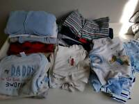 Large selection of baby boy clothes 0_1 and 0-3