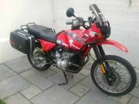 Bmw R100gs paralever touring bike (may take PX)