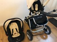 Pram/car seat (travel system)