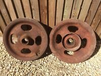 Fordson Tractor Wheels (Front)