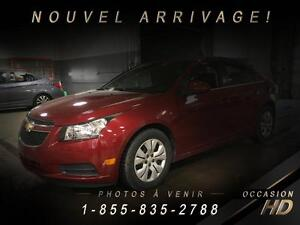 Chevrolet Cruze 2011 + LT + JAMAIS ACCIDENTÉ + TOIT + CRUISE + S