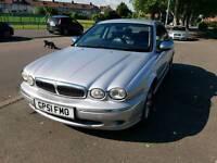 Jaguar X Type Auto 2002 low mileage 79K only long MOT