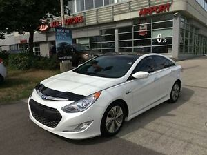 2013 Hyundai Sonata Hybrid LIMITED With Nagigation, Pano Sunroof