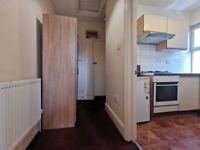 Lovely large studio flat is located on Willesden, High Road