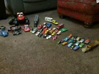 Assortment of toy cars. Smoke/Pet free