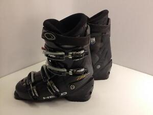 Head Ezon 8.7 men's ski boots, size 27 Mondo, flex index 5.0, last w 105