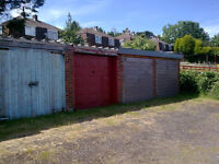 Lock up garage for storage