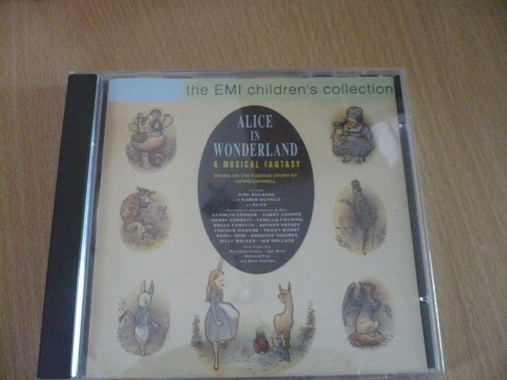 Alice in wonderland a musical fantasy see photo for listing very good condition
