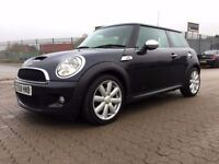 2008│MINI Hatch 1.6 Cooper S 3dr│1 Former Keeper│1 Year MOT│Half Leather│Service History