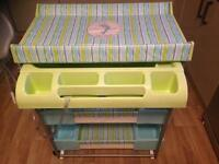 Baby Changing Unit & Bath