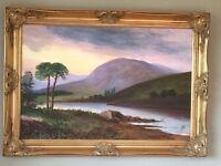 Large Framed Oil Painting - Landscape Scene (2 of 2)