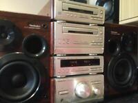 Technics midi Hifi full stack stereo system