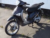 piaggio liberty 50 05 plate 2005 (almost new bike) been stored from new bargain (look)