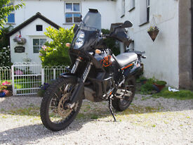 KTM 950 Adventure in excellent condition