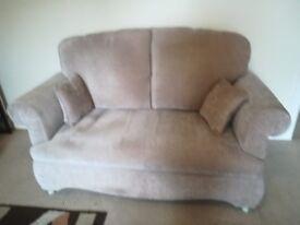 Sofa. 2 seat drop arm sofa.