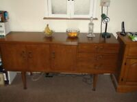 Retro Sideboard with Drinks Cabinet by Beautility