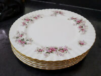 Royal Albert lavender rose dinner plates