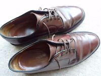 Russell and Bromley Brown Leather Shoes - Men's size 8.5
