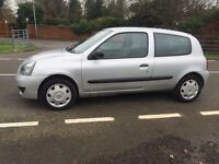 Renault Clio 1.2 Campus 3dr hpi clear,2 keys, NEW MOT