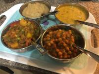 Home cooked authentic delicious Indian/Pakistani food.