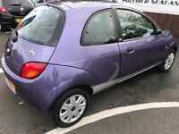 2009 FORD KA STYLE 1.3L 3 DOOR HATCHBACK MANUAL PETROL LOWER MILAGE MAY MOT 2018 FULL SERVICE