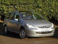 2003 Peugeot 307 sw estate (passat,fiesta,megane,zafira,mereva,polo,almera,308,306,clio,picasso,ka