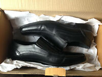 NEXT Black MENS SHOES SIZE 8 Wore Twice, Boxed BARGAIN