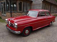 BORGWARD ISABELLA 1.5 2 door saloon Right Hand Drive 1957