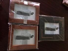 Photo Frames x3. New £8.00