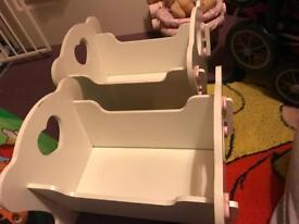 Dolls toy cot
