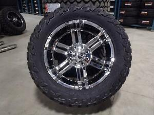 "22"" WHEEL AND 35"" TIRE COMBO BLOWOUT CASH AND CARRY SPECIAL! FORD F250/F350 ONLY"