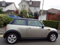 (07) MINI COOPER AUTOMATIC NEW MODEL 1 LADY OWNER, GENUINE 50K MILES, FULL HISTORY, SCARCE AUTO MINI