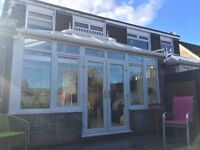 Reliable Cardiff Window Cleaner - Front, back, facia, conservatories and inside