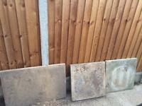 1 x 900x600 /50 ml thick/ 2 x 600x600 50ml thick slabs