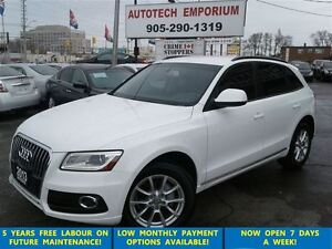 2013 Audi Q5 2.0T Prl White AWD/Lift Gate/Leather