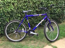 18 speed mountain bike for sale in reasonable condition