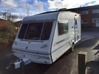 Abbey Expression caravan with full awning
