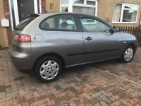 Seat ibiza 1.2 petrol 1 Owner from new + Low Milage