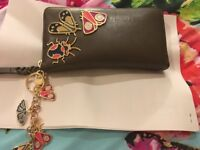 Fossil purse with matching charm