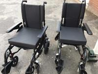 Pair Of As New Condition Wheelchairs