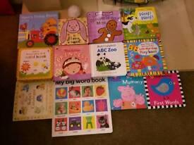 Baby toddler board books girls